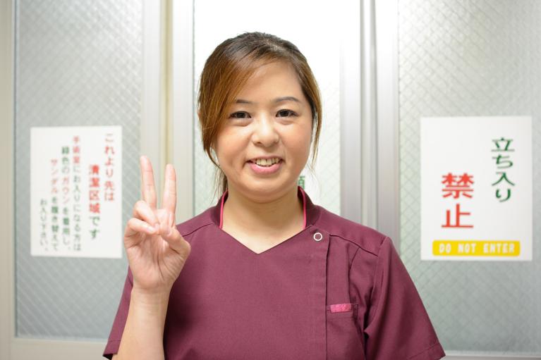 手術室兼救急外来看護師Hさん(第二種内視鏡技師・BLS・ICLS)