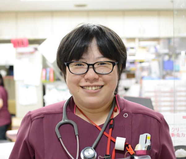 3階看護師Sさん